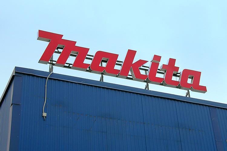 Изготовление вывески. Объёмные световые буквы (крышная установка) Makita