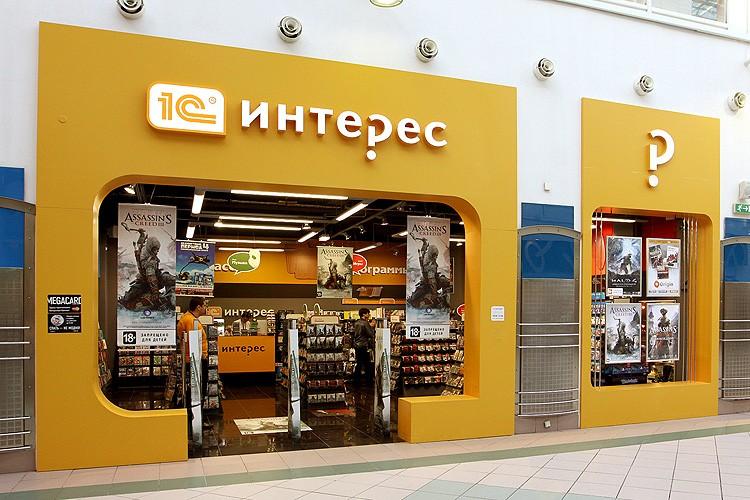 Вывески для павильона в ТЦ МЕГА в виде композитных порталов с объемными элементами для входа и витрины
