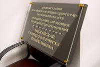 Двухуровневая представительская доска для государственного учреждения