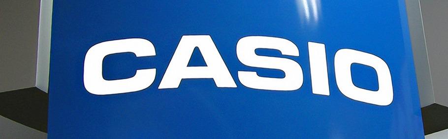 Многоуровневый нестандартный лайтбокс для павильона Casio