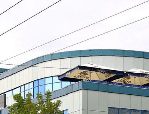 Рекламная стелла для Торгового центра «Калуга XXI век»