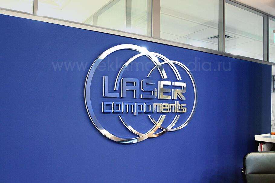 Световая вывеска для офиса компании зона ресепшн