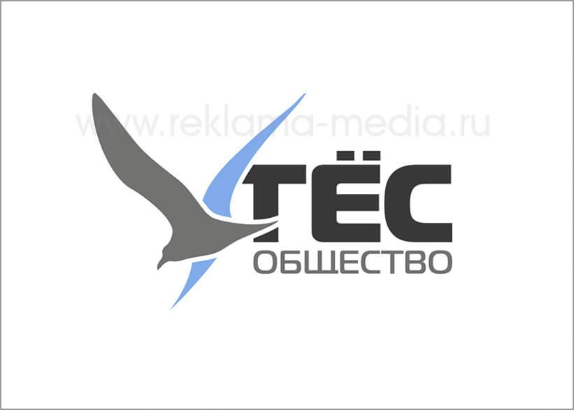 Первый вариант логотипа для рыбного магазина Общества Утёс