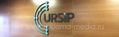 Объемный логотип на стену офиса для компании Системы и Проекты