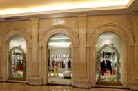 Вывеска для магазина итальянского одежды - светодиодные буквы из металла